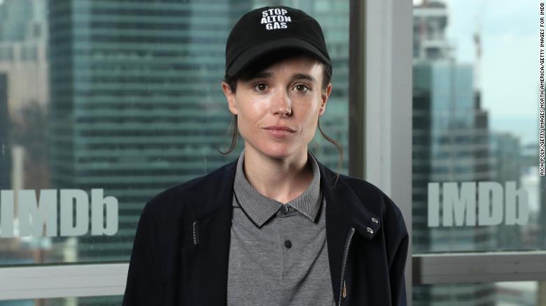 Elliot Page, 'Juno' star, shares transgender identity