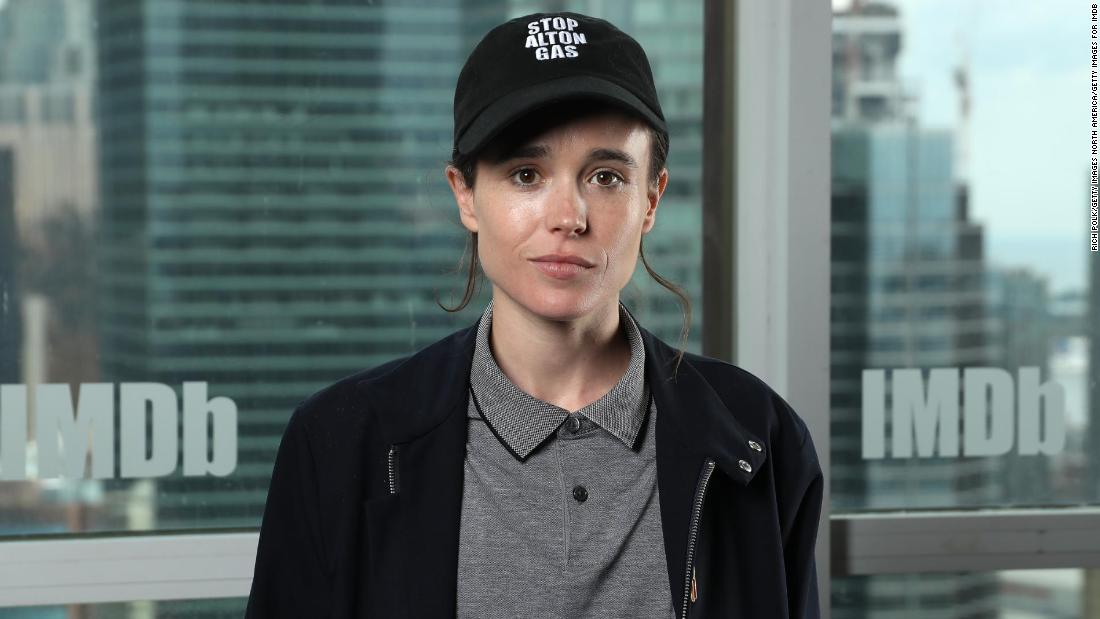 Elliot Page and Emma Portner say they are divorcing