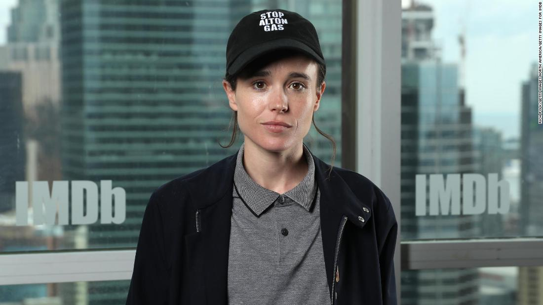 Elliot Web page and Emma Portner say they're divorcing