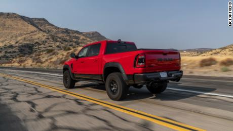 While the MotorTrend jury was impressed with the off-road performance of the Ram 1500 TRX, they also liked the way it behaved on asphalt.