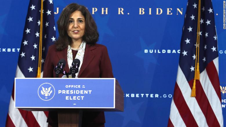 Progressives are picking their fights with Biden. Neera Tanden's nomination likely won't be one.