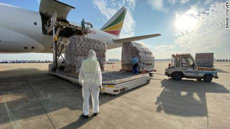 Cainiao has partnered with Ethiopian Airlines to distribute Chinese-made coronavirus vaccines abroad.