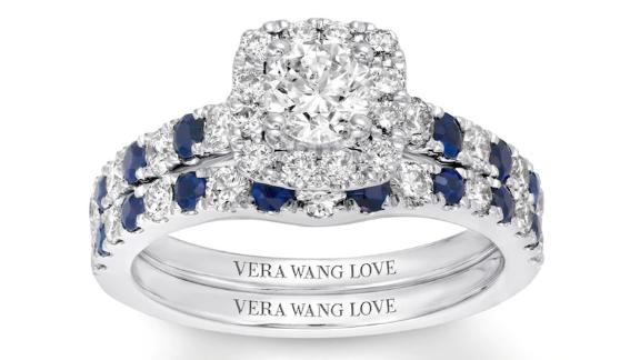 Vera Wang Love Diamonds Bridal Set