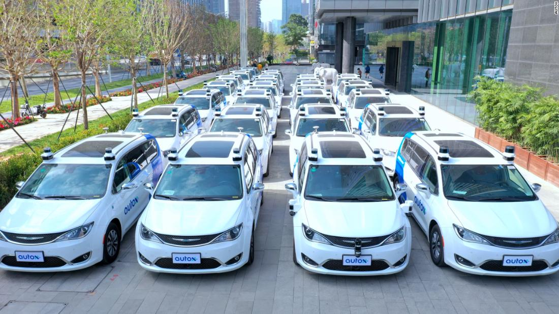 Self-driving robotaxis are taking off in China