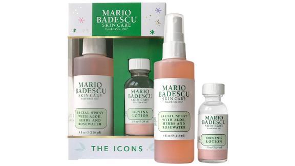 Mario Badescu The Icons: Locion خشک کننده و اسپری صورت رز Duo
