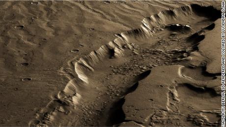 La vida potencial en el antiguo Marte probablemente vivió debajo de la superficie, encuentra un estudio