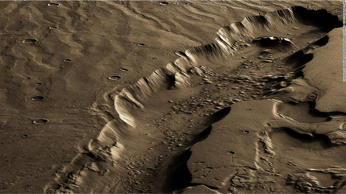 Potential life on ancient Mars likely lived below the surface, study says