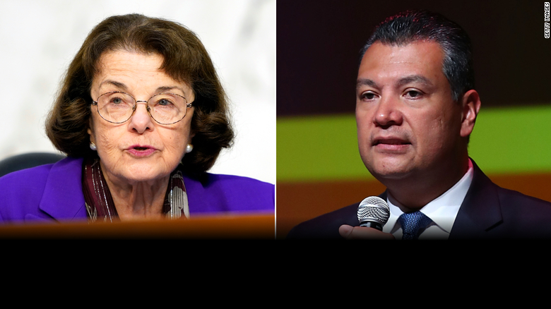 Dianne Feinstein says she backs Padilla to replace Harris in Senate