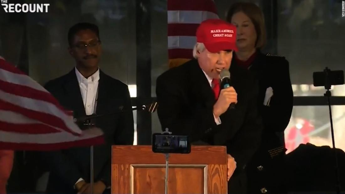 'Lock him up!': Trump ally attacks Georgia's Republican governor