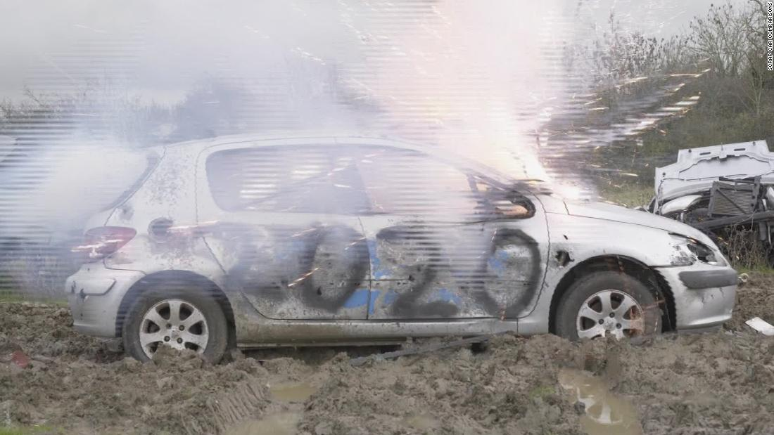 Blow off steam by destroying cars at the 'Rage Yard'