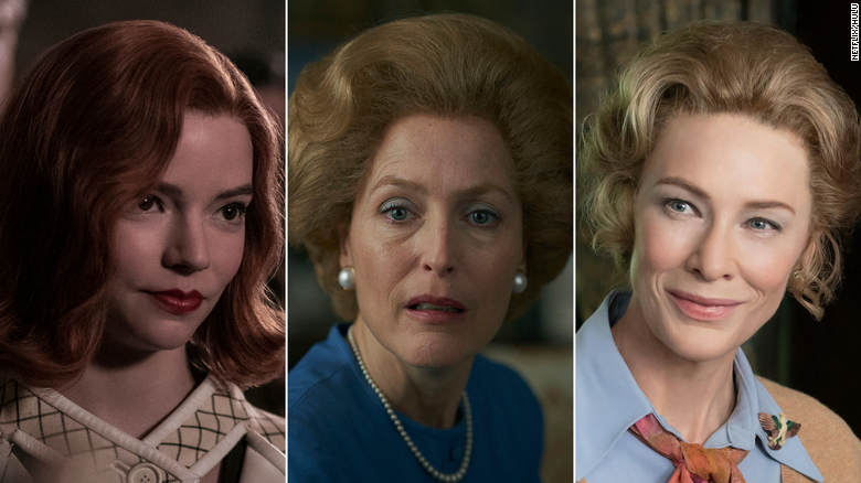 What 'Queen's Gambit,' 'The Crown' and 'Mrs. America' are whispering to us