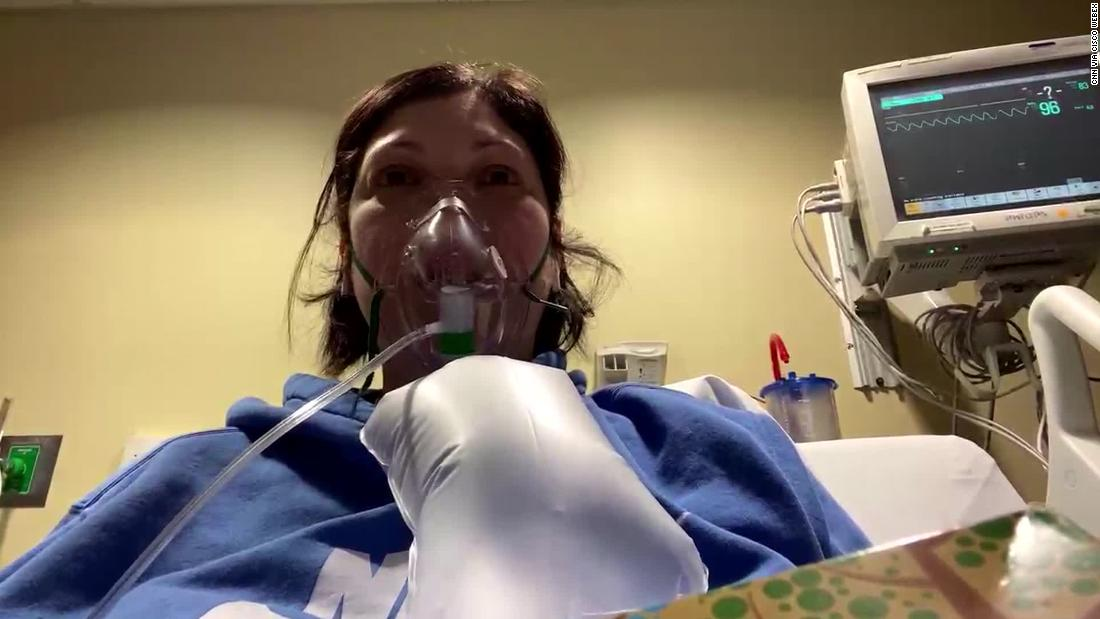 A nurse and six of her family members have Covid-19. And it began with a small act of kindness - CNN