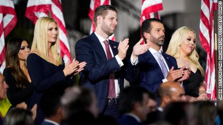 Future plot: Trump children also benefit from their father's fallen legacy