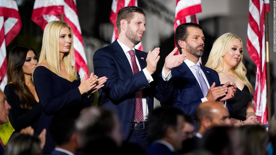 Trump kids look to profit from their father's fallen legacy