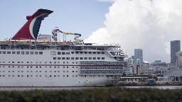 Carnival cancels all remaining cruises through February 2021