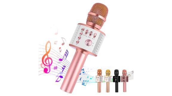 Ankuka Bluetooth Karaoke Microphone