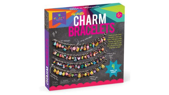 Craft-tastic DIY Puffy Charm Bracelets Jewelry Making Kit