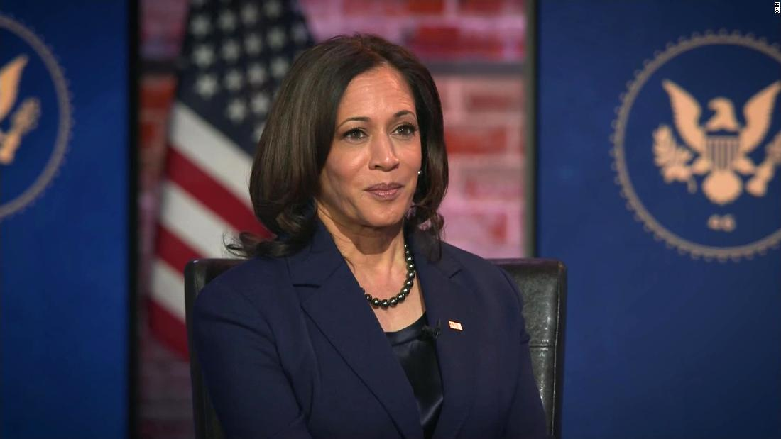 Kamala Harris: 'I will be a full partner' with Joe Biden