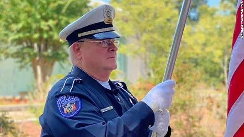 Arkansas police officer is first in the state to die in the line of duty from Covid-19, department says