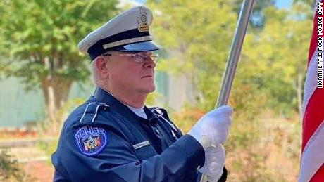 "Sgt. J.L. ""Buck"" Dancy is the first officer in Arkansas to die of Covid-19 in the line of duty, the North Little Rock Police Department said."