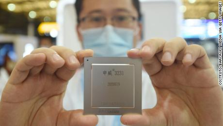 An SMIC employee will present the latest home server chip at China International Semiconductor Expo 2020.  According to the SMIC, the semiconductors are for civilian and commercial purposes and have no connection with the Chinese military.