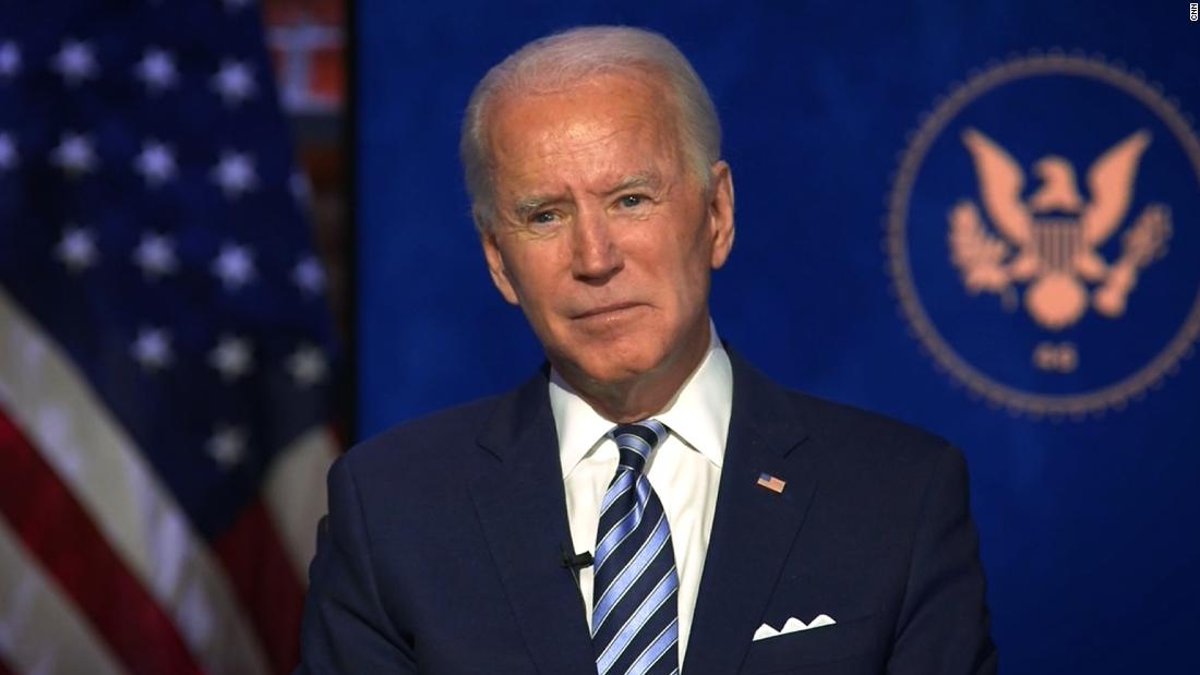 Does Biden think it's important Trump attend inauguration? Hear his answer