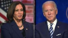 Harris on her working relationship with Biden: 'We are full partners in this process'