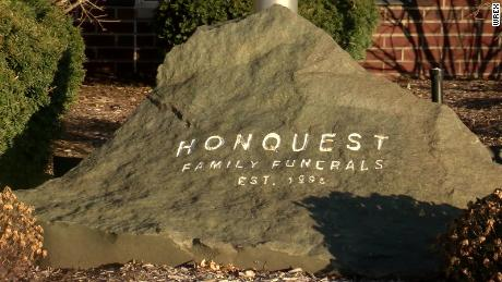 The Honquest funeral home told CNN affiliate WREX it had to turn a preparation room into a second refrigeration area to keep up with demand.