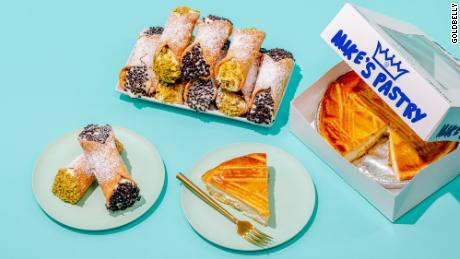 Goldbelly facilitates national delivery from Mike's Pastry in Boston