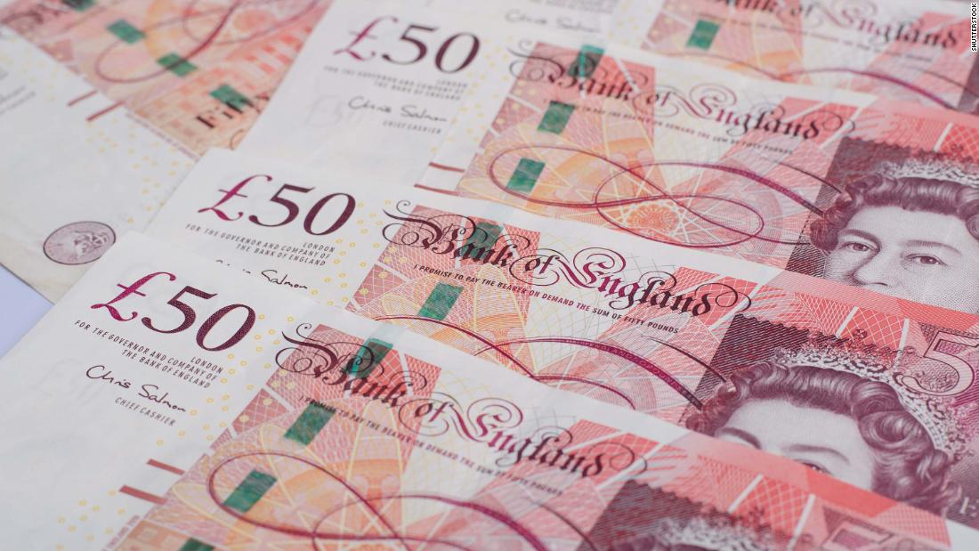 £50 billion in UK banknotes is 'missing'