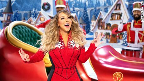 Mariah Carey embodies holiday spirit in her Christmas special.
