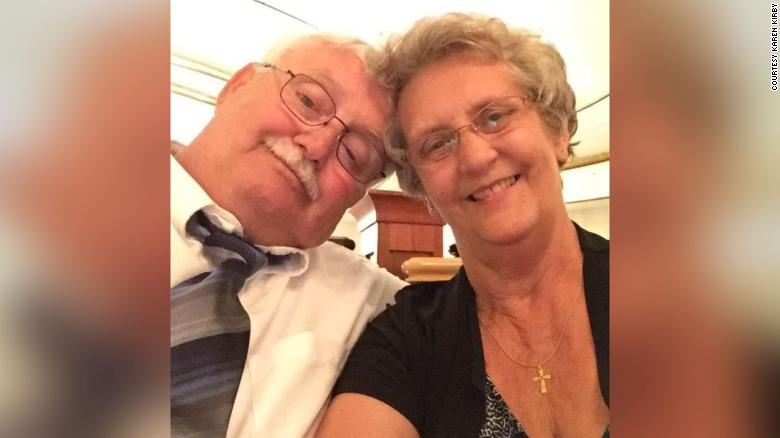 A couple, married 50 years, die just hours apart from Covid-19