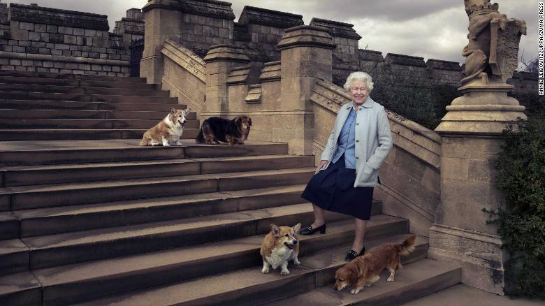 Queen Elizabeth II's dorgi Vulcan has died, leaving her with just one remaining dog