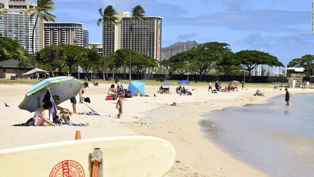Hawaii is offering free round trips to remote workers who want to live there temporarily