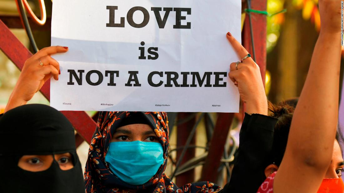 New 'love jihad' law in India slammed as unconstitutional