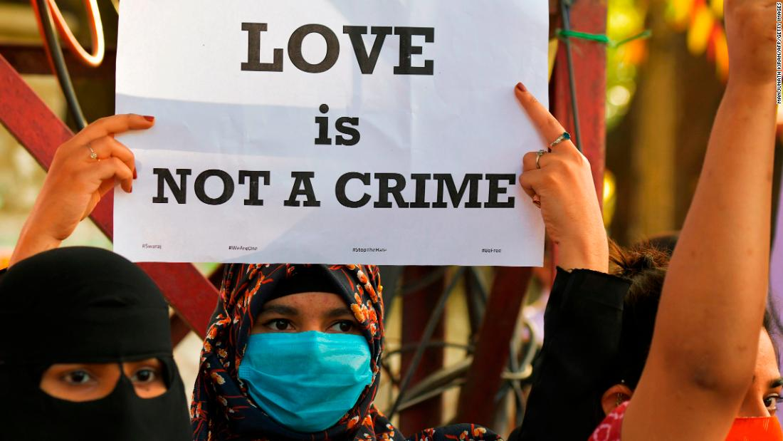 Indian Muslim student arrested for allegedly trying to convert Hindu woman under controversial 'love jihad' law – CNN