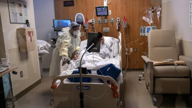 They couldn't say goodbye in person, so ICU patients are using tablets instead