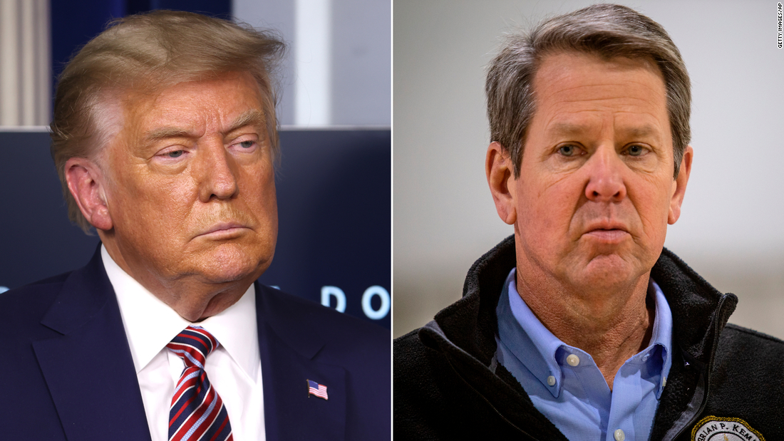 Trump's spiteful support for Abrams over Kemp sparks midterms fear from Georgia Republicans