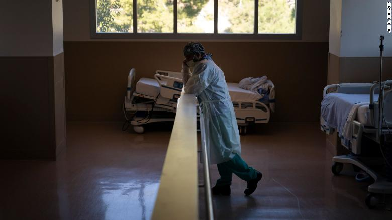 California hospital beds are filling up and doctors and nurses are just worn out