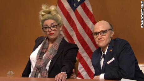 & # 39;  SNL & # 39;  Back & # 39;  Rudy Giuliani & # 39;  And his witnesses stabbed the election