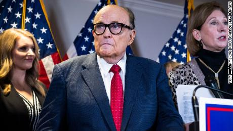 Decision to seek federal search warrant in Rudy Giuliani probe could be early test for Biden's DOJ