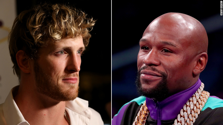 Floyd Mayweather will box YouTuber Logan Paul in February