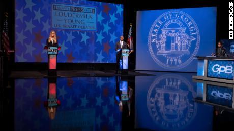 Fact-checking Georgia's senatorial debate between Loeffler and Warnock
