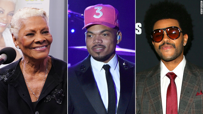 Dionne Warwick had some good-natured banter on Twitter with  Chance the Rapper and The Weeknd.