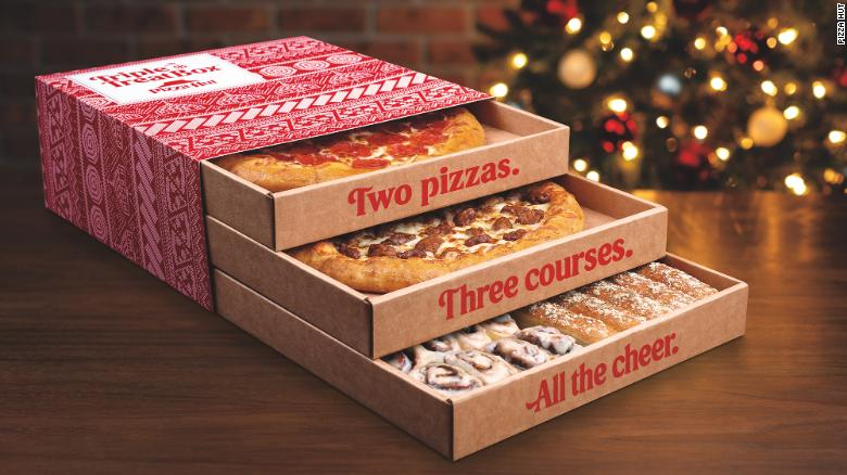 Pizza Hut is selling a triple-decker pizza box