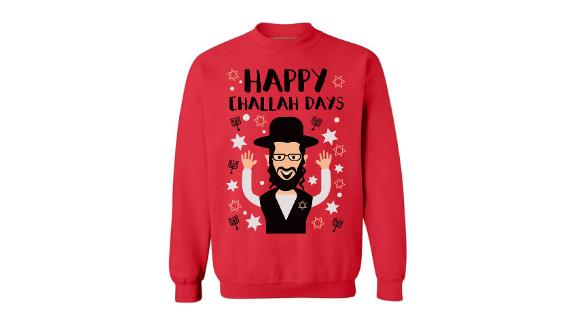 Awkward Styles Happy Challah Days Sweatshirt