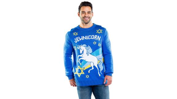 Tipsy Elves Jewnicorn Sweater
