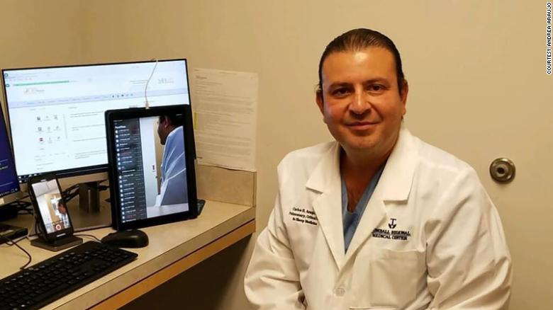 A doctor who treated some of Houston's sickest Covid-19 patients has died