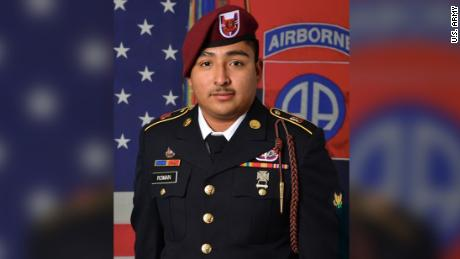 The remains of Spc. Enrique Roman-Martinez washed ashore off the coast of North Carolina in May. Investigators have ruled his death a homicide.