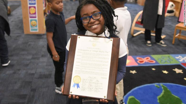 This 8-year-old is on a mission to give away 2 million books to underprivileged kids